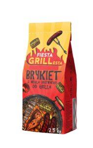 Fiesta Grillesta Brykiet 2,5 kg