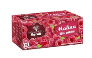 Zaczarowany Ogród Herbatka owocowa o smaku malinowym 40 g