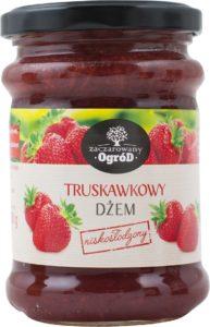 Zaczarowany Ogród Dżem truskawkowy niskosłodzony 280 g