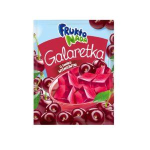 Fruktonada Galaretka o smaku wiśniowym 75 g