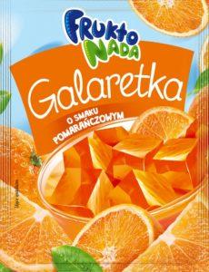 Fruktonada Galaretka o smaku pomarańczowym 75 g