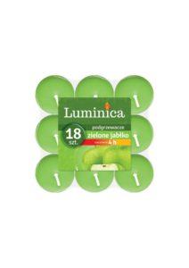 Luminica Podgrzewacze zapachowe zielone jabłko 18 szt