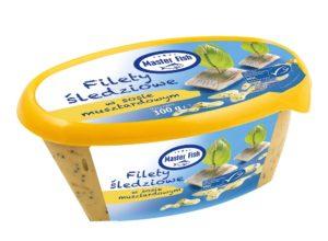 Master Fish Filety śledziowe w sosie musztardowym 300 g