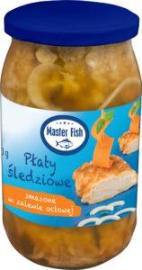 Master Fish Płaty śledziowe smażone w zalewie octowej 800 g
