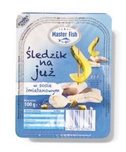 Master Fish Śledzik na już w sosie śmietankowym 100 g