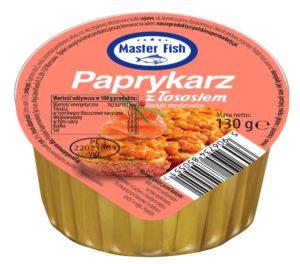 Master Fish Paprykarz z łososiem 130 g