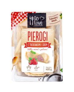 Go tove Pierogi z truskawkami i serem 400 g