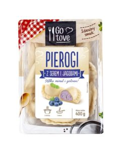 Go tove Pierogi z serem i jagodami 400 g