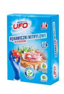 UFO Rękawiczki nitrylowe 10 szt.