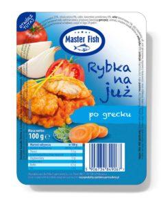 Master Fish Rybka na już po grecku 100 g