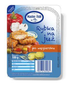 Master Fish Rybka na już po węgiersku 100 g
