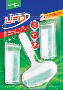 UFO Zawieszka z kostkami do toalet świeżość lasu 3x40 g
